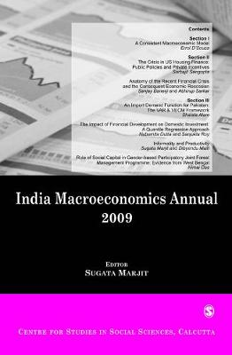 India Macroeconomics Annual 2009 (Paperback)