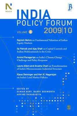 India Policy Forum 2009-10 - India Policy Forum (Paperback)