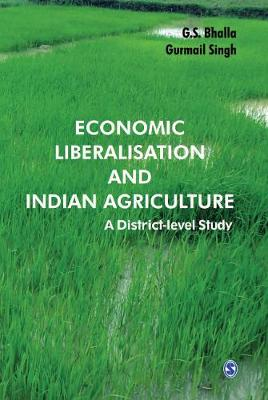 Economic Liberalisation and Indian Agriculture: A District-Level Study (Hardback)