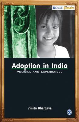 Adoption in India: Policies and Experiences (Paperback)