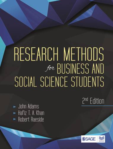 Research Methods for Business and Social Science Students (Paperback)