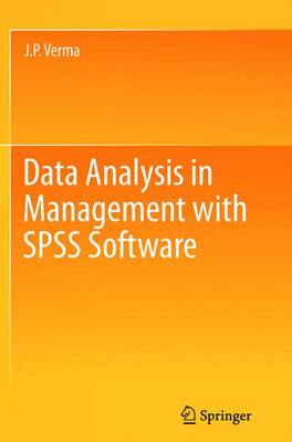Data Analysis in Management with SPSS Software (Paperback)