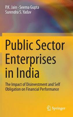Public Sector Enterprises in India: The Impact of Disinvestment and Self Obligation on Financial Performance (Hardback)