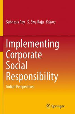 Implementing Corporate Social Responsibility: Indian Perspectives (Paperback)