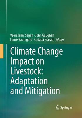 Climate Change Impact on Livestock: Adaptation and Mitigation (Paperback)