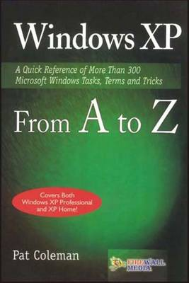 Windows XP from A to Z (Paperback)