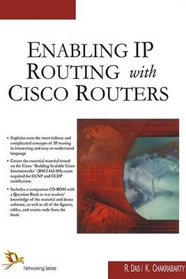Enabling IP Routing with CISCO Routers (Paperback)