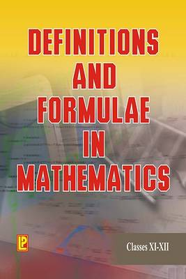 Definitions and Formulae in Mathematics IX and X (Paperback)