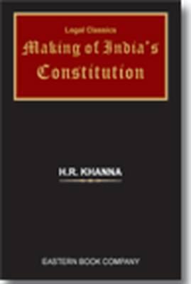 Making of India's Constitution (Hardback)