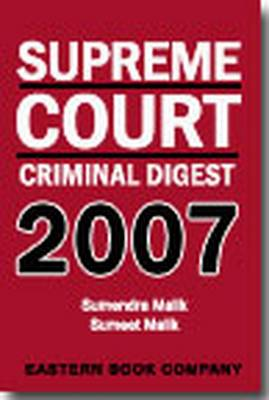 Supreme Court Criminal Digest 2007 (Hardback)