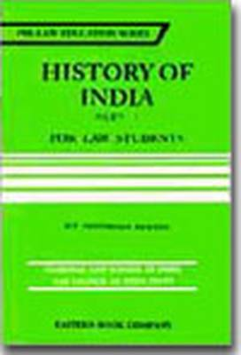 History of India: Pt. 1 (Paperback)
