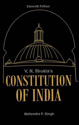 V.N. Shukla's Constitution of India (Hardback)