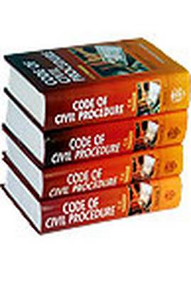 Code of Civil Procedure: v. 4 (Hardback)