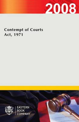 Contempt of Courts Act, 1971 (Paperback)