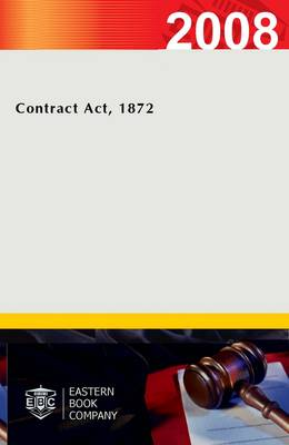 Contract Act, 1872 (Paperback)