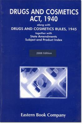 Drugs and Cosmetics Act, 1940 (Paperback)