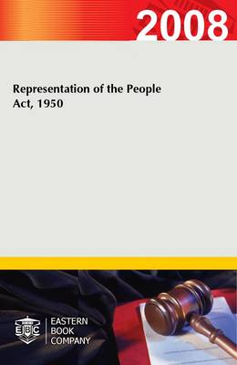 Representation of the People Act, 1950 (Paperback)