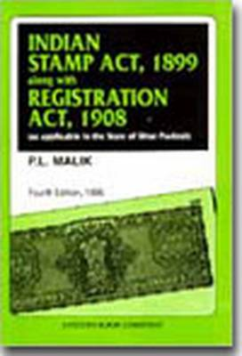 Indian Stamp Act, 1899 with Indian Registration Act, 1908 (Paperback)