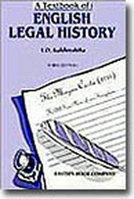 A Textbook of English Legal History (Paperback)