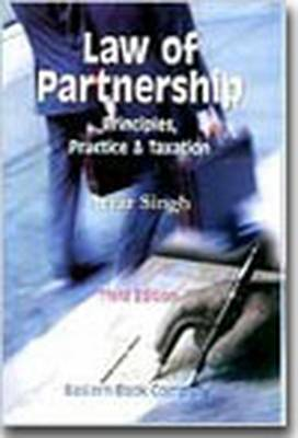 Law of Partnership (principles, Practice and Taxation): with Supplement 2003 (Hardback)