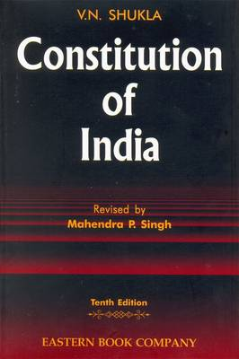 V.N. Shukla's Constitution of India: with Supplement (Hardback)