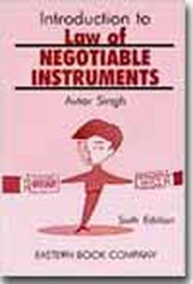 Introduction to Law of Negotiable Instruments (Paperback)