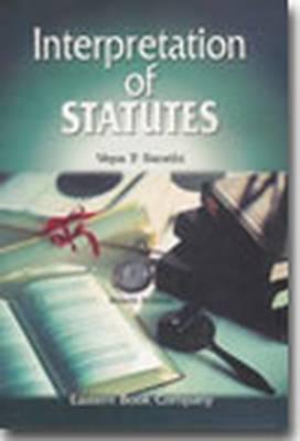 Interpretation of Statutes (Hardback)