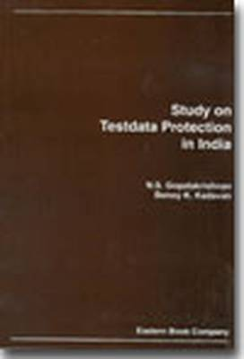 Study on Test Data Protection in India (Paperback)