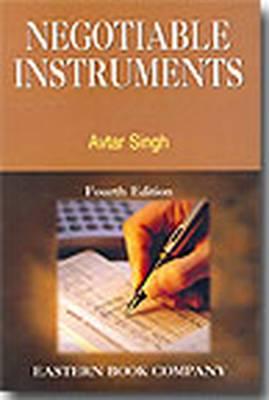 Negotiable Instruments (Hardback)