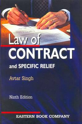 Law of Contract and Specific Relief (Hardback)