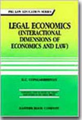 Legal Economics (interactional Dimensions of Economics and Law) (Paperback)