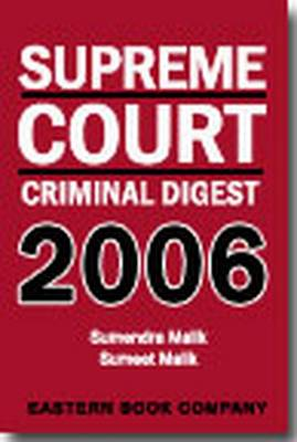 Supreme Court Criminal Digest 2006 (Hardback)