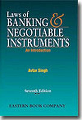 Laws of Banking and Negotiable Instruments (Paperback)
