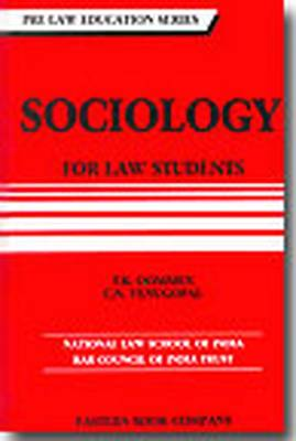 Sociology for Law Students (Paperback)