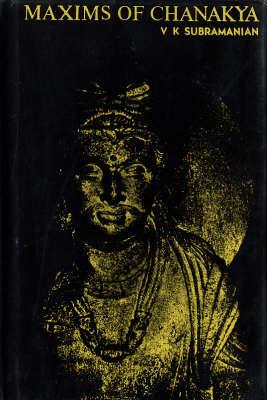 Maxims of Chanakya (Hardback)