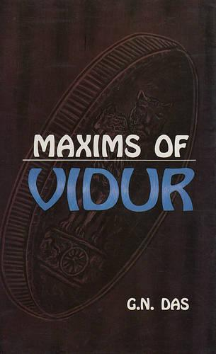 Maxisms of Vidur (Hardback)