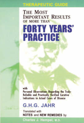 Therapeutic Guide: Forty Years of Practice (Paperback)