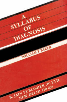 Syllabus of Diagnosis (Paperback)