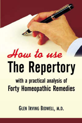 How to Use the Repertory (Paperback)