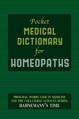 Pocket Medical Dictionary (Paperback)