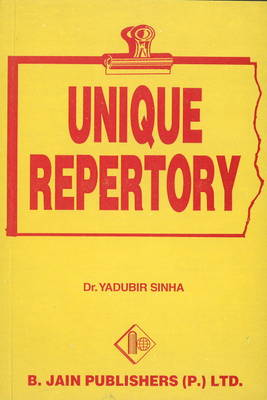 Unique Repertory (Paperback)
