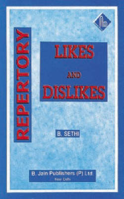 Repertory of Likes and Dislikes (Paperback)