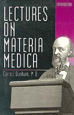 Lectures on Materia Medica (Hardback)
