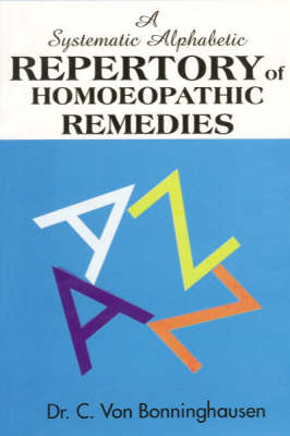 Systematic Alphabetic Repertory of Homeopathy (Paperback)