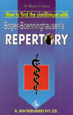 How to Find Simillimum with Boger's Repertory (Paperback)