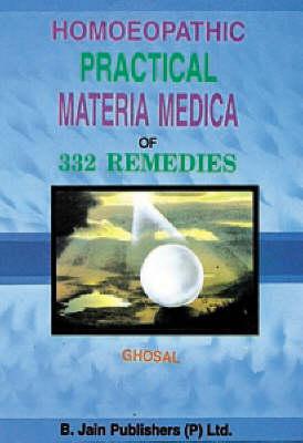 Homoeopathic Practical Materia Medica of 332 Remedies (Hardback)