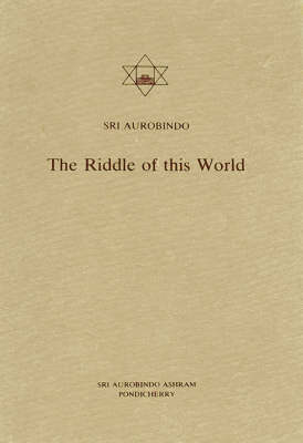 The Riddle of This World (Paperback)