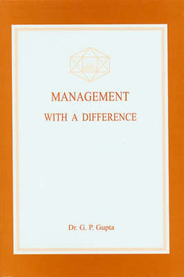 Management with a Difference (Paperback)