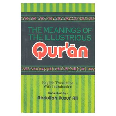 The Meanings of the Illustrious Qur'an (Paperback)