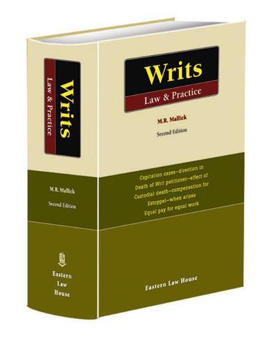 Writs Law and Practice (Hardback)